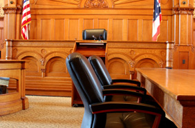 Small Claims Courtroom
